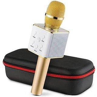 Handheld Wireless Karaoke Singing Mic Speaker Microphone Microphone