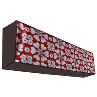 Dream Care Waterproof Multicolor Printed AC Cover for LG JS-Q18BPXA 1.5 Ton 3 Star Dual Inverter Split IN Unit Product Dimension  (LxWxH)::(23 cm (9 inch) x 109 cm (43 inch) x 30 cm(12 inch))