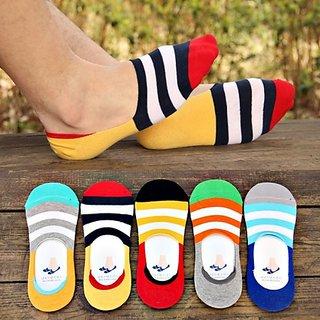 OneBasket men  women loafer socks (pack of 5)