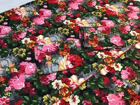 Pure Cotton Floral Print Bedsheet with Pillow Covers
