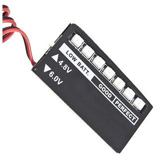 Futaba 7 LED Low voltage Monitor Indicator