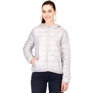 Kotty Women's Silver Full Sleeve Paddle Jacket