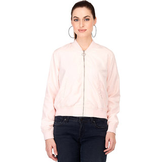 Kotty Women's Pink Full Sleeve Paddle Jacket
