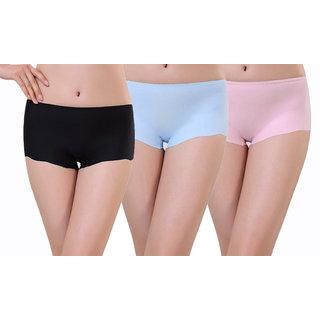 Styles Creation Pack Of 3 Stylish, Designer Panties for   Girls  Women (PANT11)