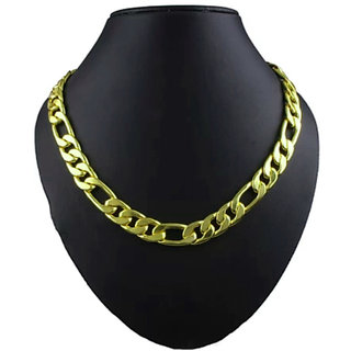 Styles Creation Men's Stylish Gold Plated Heavy Chain Necklace (Artificial Jewellery)(ARTFLJWL07)