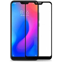 Redmi Note 6 Pro 5D Black Tempered Glass Standard Quality