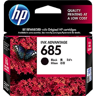 HP 685 Black Ink Cartridge (Black)