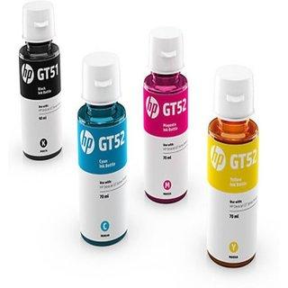 InkJet Hp Gt 51  Gt 52 Multi Color Ink  Black, Magenta, Yellow, Cyan  Multi Color Ink  Black, Magenta, Yellow, Cyan