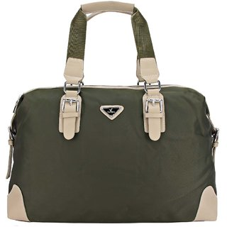 9f8d19691c Buy Tuviro Archer Double Zip Duffle Bag - Green Online   ₹3168 from ...