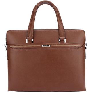 Tuviro Grandus Laptop Bag - Brown