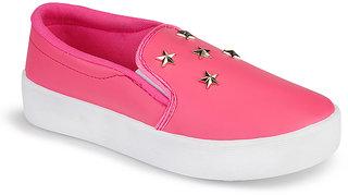 Birde Pink Casual SlipOn Shoes For Women