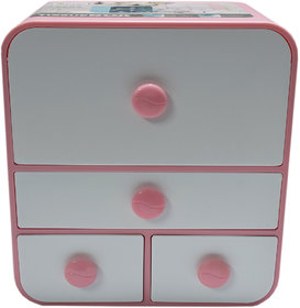 6th Dimensions Multipurpose Cosmetic Organizer Box (Pink)