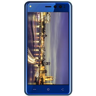Ziox Duopix F9 Dual SIM 4G LTE Mobile Phone (1GB RAM) (Blue)