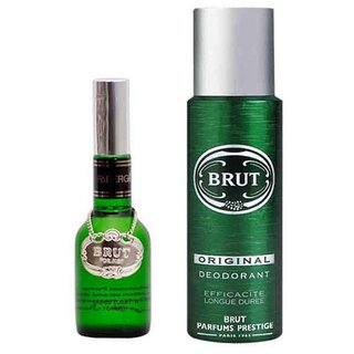 Brut Glass Perfume of 100 ml Edt And Brut deo of 200 Ml