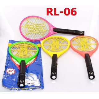 Combo of RL-06 Rock Light Mosquito Racket ( Set of Two )