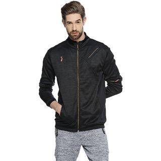 Campus Sutra Men High Neck Sports Jacket
