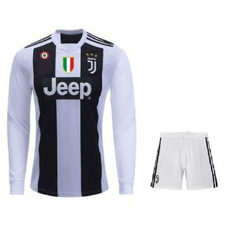 buy online 844ea 3a721 juventus home kit jersey full sleeves with shorts
