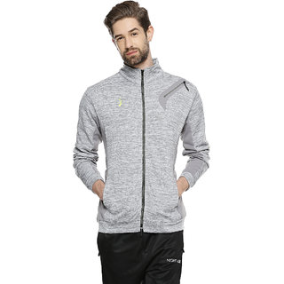 Campus Sutra Men High Neck Sports Jacket