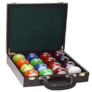 LGB Combo of Pool Ball Set and Ball case