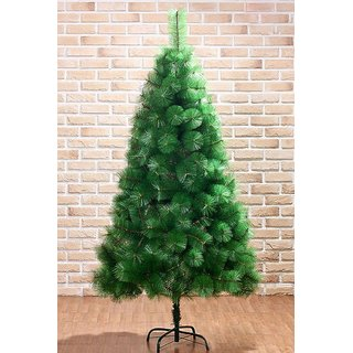 UNIQUE - 5 FOOT SIZE XMAS PINE TREE - METAL STAND 5 FEET HEIGHT ARTIFICIAL PINE CHRISTMAS TREE