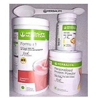 Herbal life F 1 Strawberry F 3 Protein Powder And Afresh Lemon