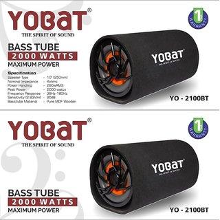 Yobat YO-2100BT 10 inch Bass Tube 2000 Watts