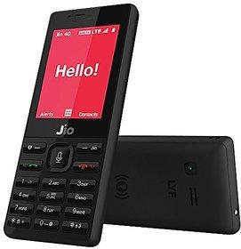 JIO KEYPAD FEATURE PHONE BLACK, 512 MB RAM/4GB ROM WITH