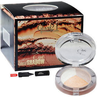 Glam21 Colorful Eyeshadow ES611-39 With Free Adbeni Kajal