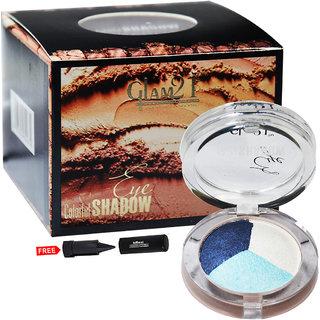 Glam21 Colorful Eyeshadow ES611-44 With Free Adbeni Kajal