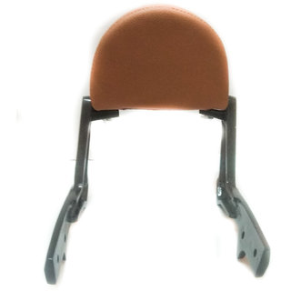 Spidy Moto Backrest Support Pillion Beige With Padded Cushion Back Rest Only Fit in Bullet Classic Desert
