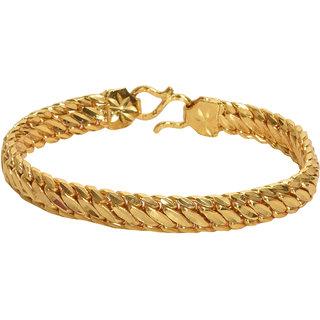 Himan 22kt Gold Plated Men Bracelet by Styles and Fashion/Gold Plated Bracelet/Gold Bracelet Men/Bracelet for Men