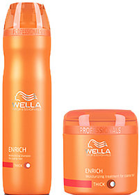 WELLA PROFESSIONAL ENRICH MOISTURISING SHAMPOO  CONDITIONER