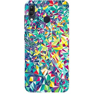 Back Cover for Asus Zenfone Max M1 (Multicolor,Flexible Case)