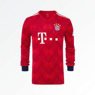 timeless design 2f476 f6cc3 Fc Bayern Munich football full sleeve jersey(reb)