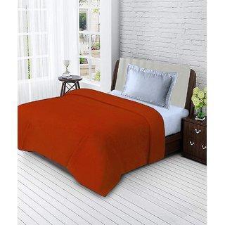 c65e1b8dcc Buy BSB Trendz Single Polar Fleece Plain Blanket-Orange Online - Get ...