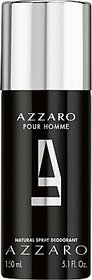 Luis Azzaro Pour Homme Deodorant Spray - For Men (150 Ml)