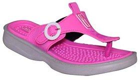 Adda Pink Color Flipflops  For Women