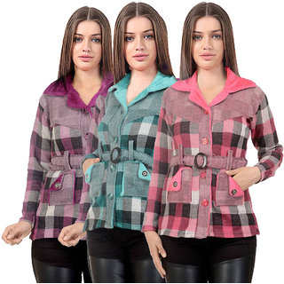 Christys Collection Multicolor Womens Cardigans