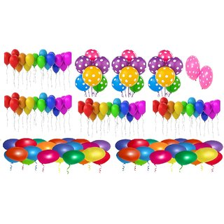Latex Balloons Pack of 100