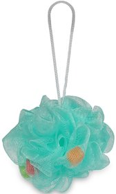 Gorgio Professional Mint Green loofah infused with foaming cube