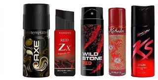 3 out of 5 Men's Deodorants (Assorted)