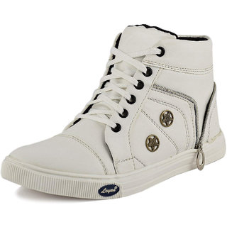 Stylos Men's 920 White Casual shoes