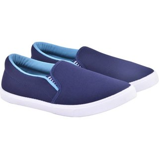 Edee Fit-Man Blue Casual Shoes