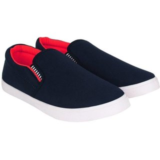 Casual loafer (Blue & Red) by Edee FIT-MAN for men