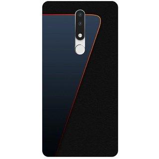 Back Cover for Nokia 3.1 Plus (Multicolor,Flexible Case)
