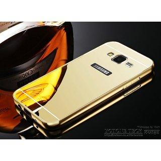 Mirror Aluminium Metal Bumper Back Cover Case for Samsung Galaxy Grand 2 / G7106