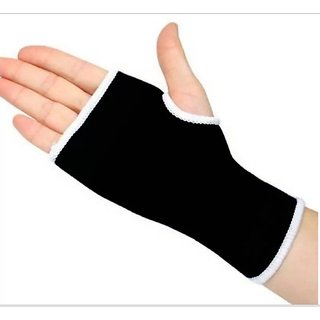 Palm support pair For Good Health Care, Best Quality -(BLACK)