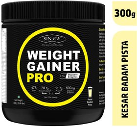 Sinew Nutrition Weight Gainer Pro With Digestive Enzyme - 142644532