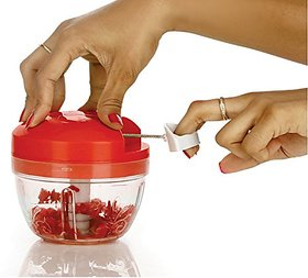 Ankur All in One Smart Food Premium Dori Chopper (Red)