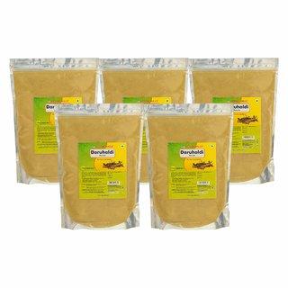 Herbal Hills Daru Haldi Powder - 1 kg powder - Pack of 5 - Daru Haldi Powder for Face